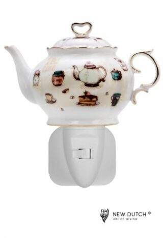 Night Light Teapot Tea Time