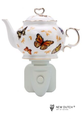 Night Light Teapot Butterfly